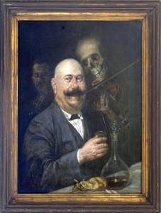 Aleksic Stevan (1876-1923), Segedinski krcmar, 1917, maslo na platno, 82x65,5