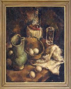 Andrejevic Gjorge-Kun (1904-1964), Mrtva priroda, 1930-31, maslo na sper, 52x45