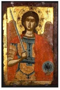 Arhangel Mihail, treta decenija od 17 vek, manastir Slepche, Demir Hisar