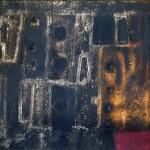 Bernik Janez (1933-), Sklad, 1958, maslo na platno, 66,5x197