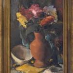 Besevic Nikola, Mrtva priroda, maslo na platno, 58x38