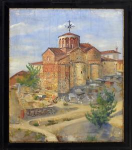 Bibic Petar, Decani, 1930, maslo na platno, 48x63