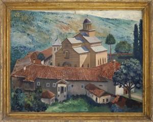 Bibic Petar, Decani, 1930 te, maslo na platno, 48x63