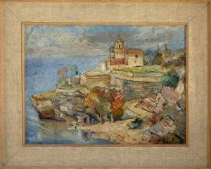 Bibic Petar, Ohrid, okolu 1930, maslo na karton, 45x60