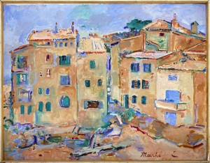 Celebonovic Marko (1902-), Sen Tropez, 1960-64, maslo na platno, 72x92