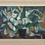 Darbon Andre, Cveke, 1961, maslo na platno, 54x73