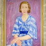 Dobrovic Petar (1890-1942), Portret na anglicanka, okolu 1938, maslo na platno, 92x73,5