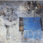 Dolenec Franjo (1930-), Dolga zima, 1962, maslo na platno, 99x130