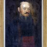 Gjurkovic Pavel (1772-), Portret na Mitropolitot Stratimirovic, maslo na platno, 72x58