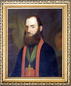 Gurkovik, Pavel (1772-1830) Portret na mitropolitot Stratimirovic, okolu 1845-1850, maslo na platno,  72x58