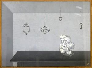 Hadzi Ristic Nikola, Mrtva  priroda, 1958, 53x116