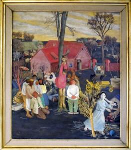 Hegedusic Krsto, Justicija, 1934, maslo na platno, 121x103