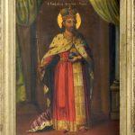 Isajlovic Jovan (1803-1885) Stefan Decanski, sred. na 19 vek. maslo na platno, 80x57,5