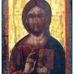 Isus Hristos praveden sudija, 1628, manastir Slepche, Demir Hisar