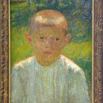 Jama Matej (1872-1947), Momce, 1911, maslo na platno. 42,5x31,5