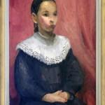 Kraljevic Miroslav (1885-1913), Portret na devojce I, 1912, maslo na platno, 64x48