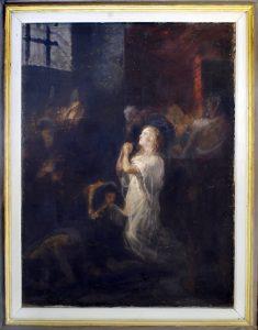 Leon Koen (1859-1934), Sara Martin I, 1892-94, maslo na platno, 123x93