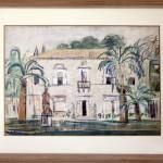 Milosavljevic Predrag (1908-) Dubrovnik, 1936-38, akvarel na hartija, 47x65