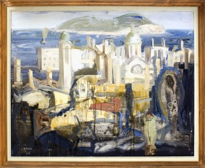 Milosavljevic Predrag (1908-), Marina, 1960, maslo na platno, 89x116,5