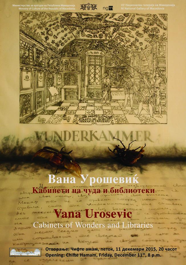 vana urosevic - kabineti plakat